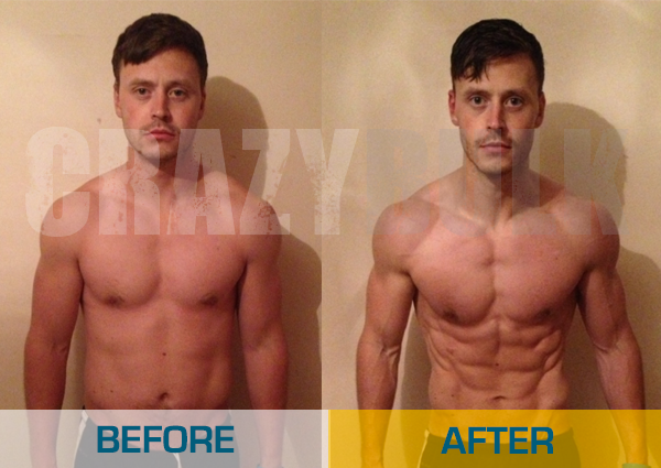 Crazy Bulk Real Before After Pictures