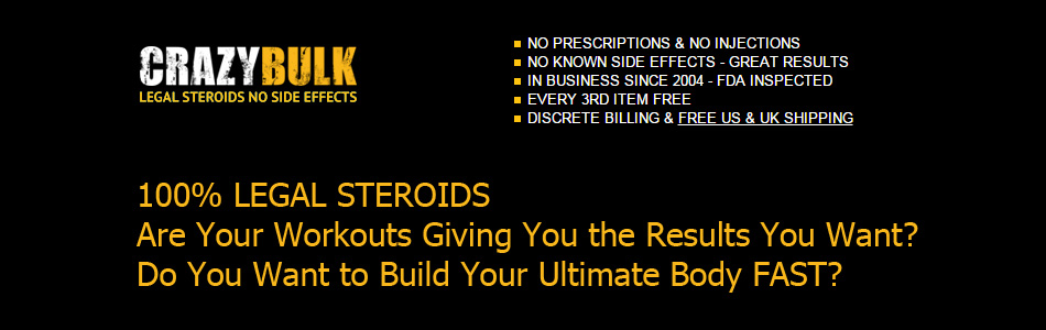 Why Legal Steroids?